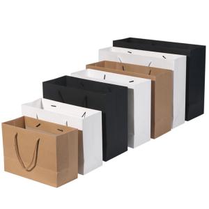110 gsm brown kraft paper bag-1