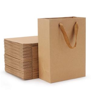 110 gsm brown kraft paper bag-2