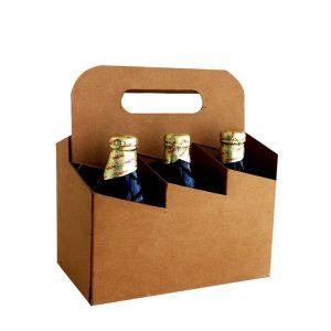 6 bottle cardboard wine box-1
