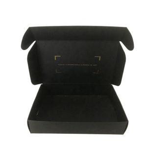 Black express paper box-1