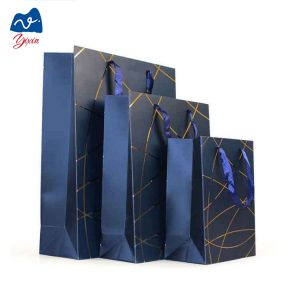 Blue paper bag-1