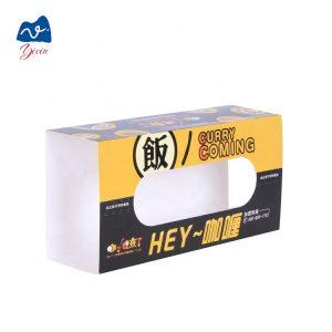 Cardboard sleeve food packaging-1
