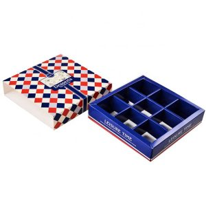 Chocolate box with paper tray-2