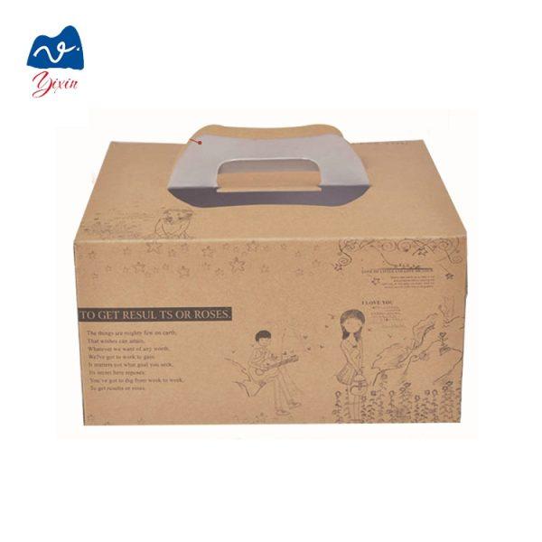 Corrugated cake box-2