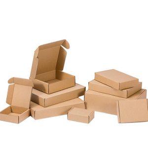 Corrugated paper pack box-2