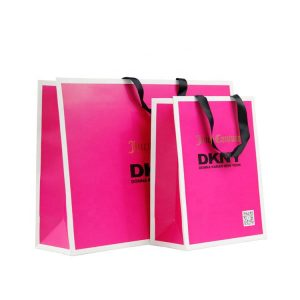 Custom Shopping Paper Bag-1