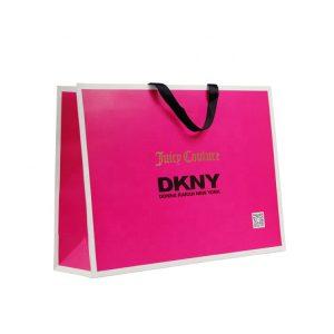 Custom Shopping Paper Bag-2