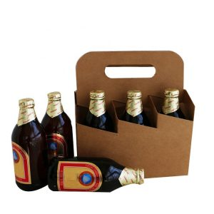Custom printing six pack beer box-1