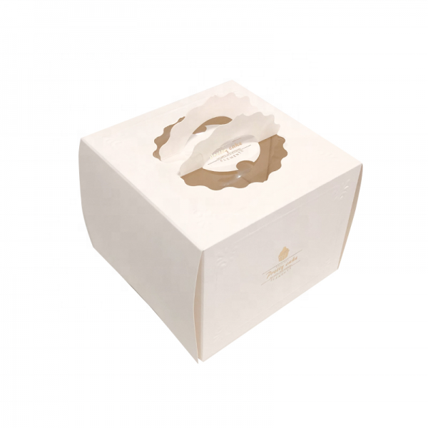 Disposable cake box-1