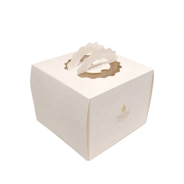 Disposable cake box-2