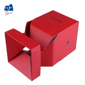 Flower box with hot stamping-2