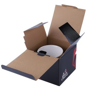 Foldable cup cardboard box-1
