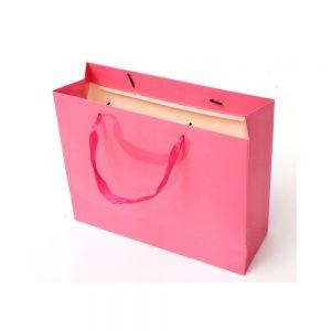 Golden paper shopping bag-2