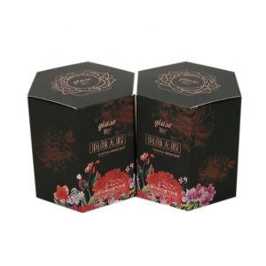 Hexagon Paper Box for Cosmetics-1