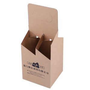 Kraft foldable box-1