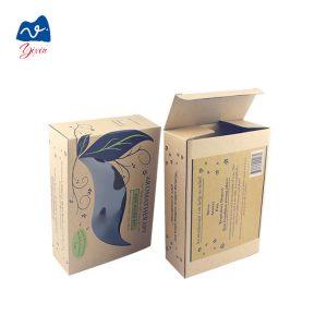 Kraft soap packaging box-1