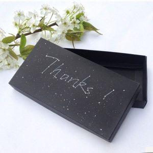 Matte black gift box-2