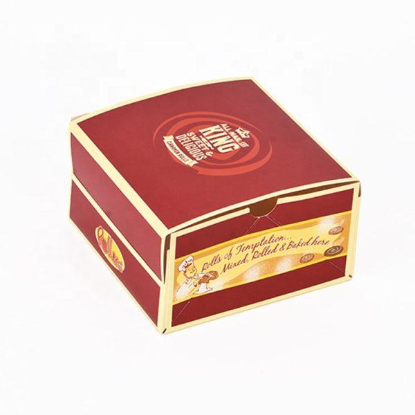 Paper Hamburger Box-1