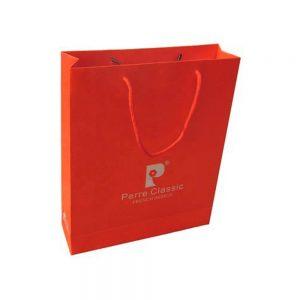 Paper bag with logo print-2