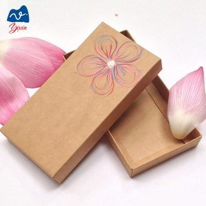 Paper mache box with lid-1