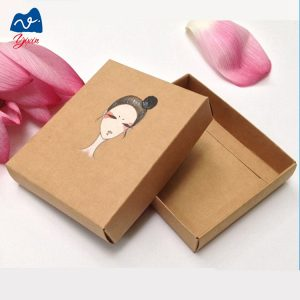 Paper mache box with lid-2