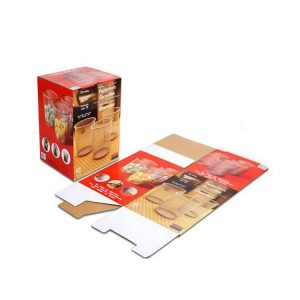Shipping box for glass bottles-1