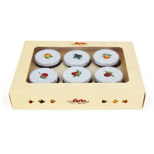 Tealight candle packaging box-1