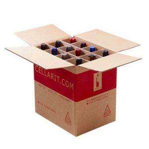 Wine bottle packaging carton box-1