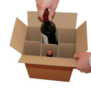 Wine bottle packaging carton box-2