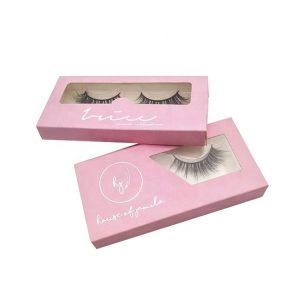 black cardboard eyelash box-2