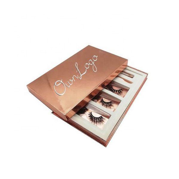 black cardboard eyelash box-5
