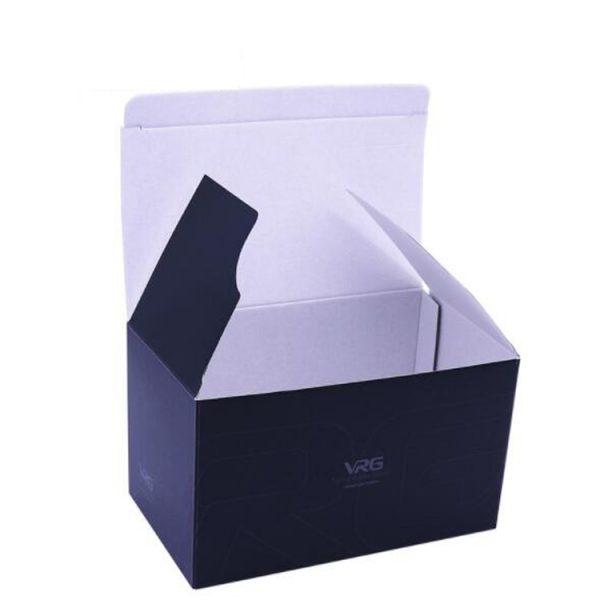 black corrugated box-1