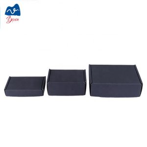 black kraft corrugated box-1