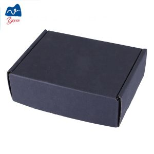 black kraft corrugated box-2