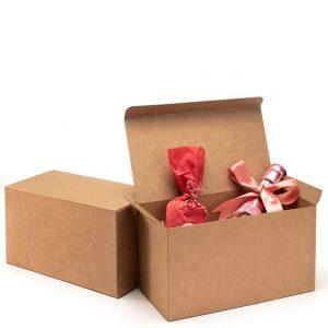 brown cardboard gift box-2