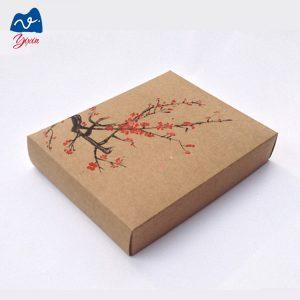 brown recycle cardboard gift box-2