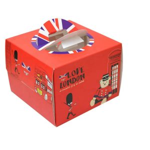 cake box template-1