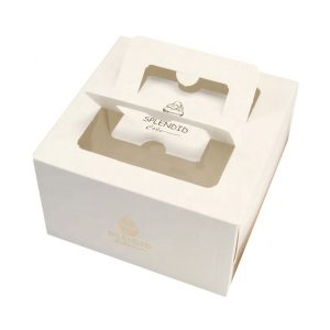 cake box with handle-2
