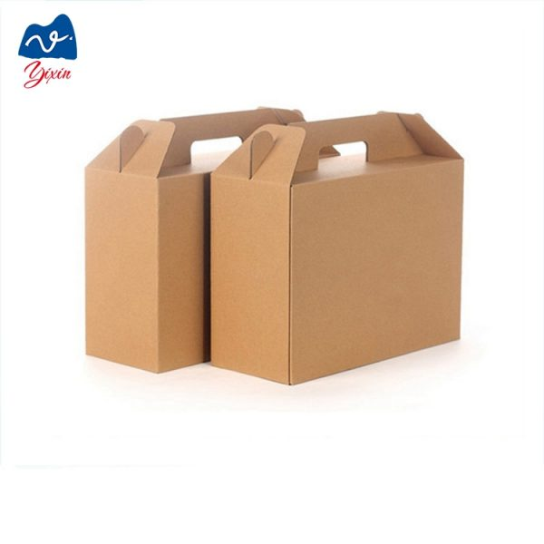 cardboard box with handle-2