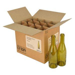 cardboard champagne bottle box-1