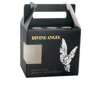 cardboard gift box for wine bottle-1