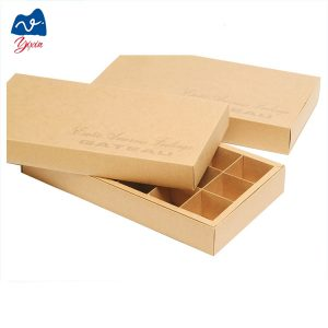 chocolate box with paper divider-1