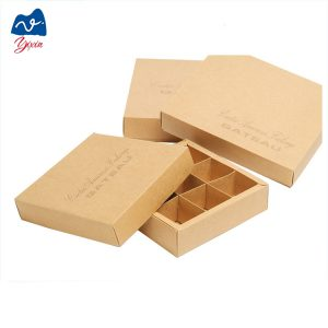 chocolate box with paper divider-2