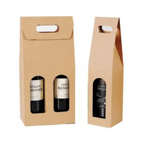 clear wine glass packing box-1