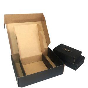 corrugated box with lock-1