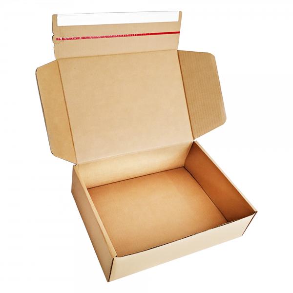 folding corrugated craft paper box-1