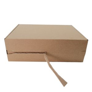folding corrugated craft paper box-2