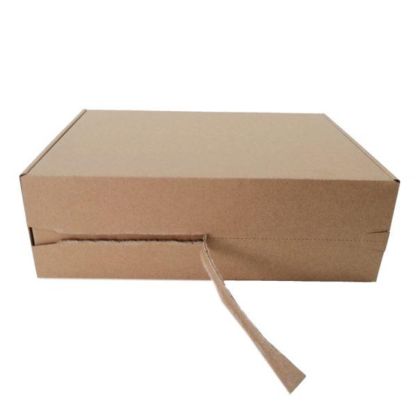 folding corrugated craft paper box-2