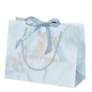 grosgrain handle paper bag-1