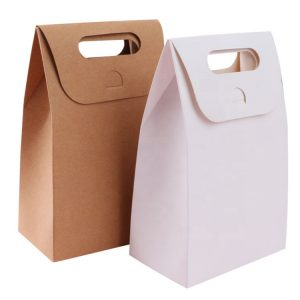kraft box with handle-1